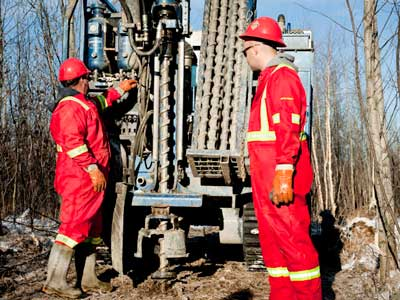 With crews for heli-portable drilling and a large fleet of track drills, we can access and drill at virtually any location.